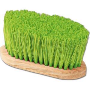 Fell- und Mähnenbürste in grün