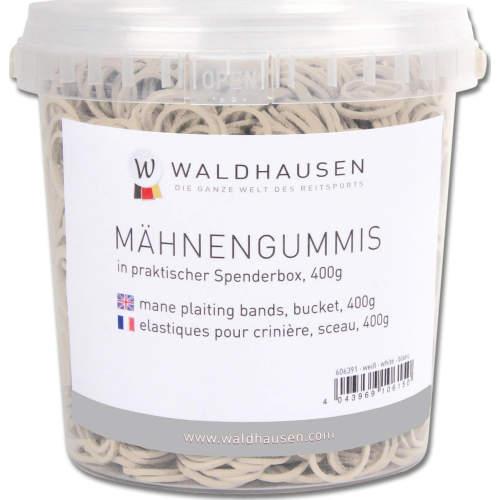 Waldhausen - Mähnengummis im Eimer, 400 g in weiß