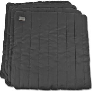 Bandagierkissen 4er Set in schwarz