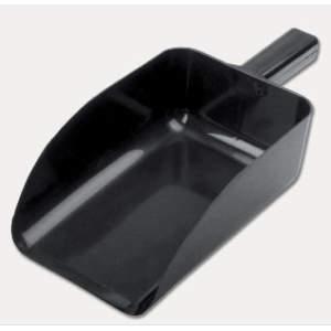 Futterschaufel in schwarz