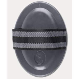 Gummi-Striegel Premium in schwarz