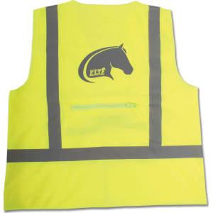 Weste Reflex für Erwachsene in neon gelb