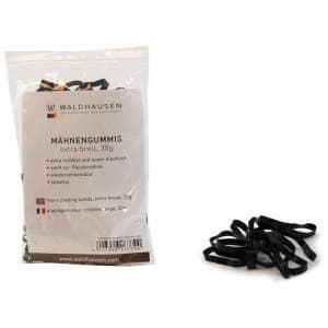 Mähnengummis extra breit in schwarz