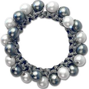 Haargummi Perlen-Design