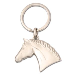 Schlüsselanhänger 3-D Pferdekopf