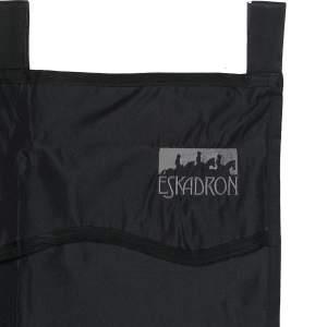 Boxenvorhang in schwarz