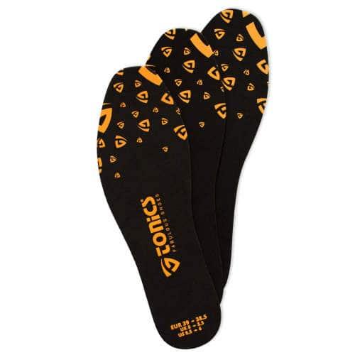 Tonic Shoes - Einlegesohlen Magic Insoles Starter Kit Tonics in black/orange, Größe ONE SIZE