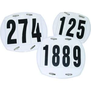 Kopfnummern Set 0-999 in kleiner Mappe 3 stellig , Größe: One Size