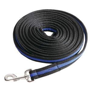 Longe BlackDuo in schwarz/blau