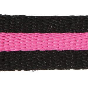 Longe BlackDuo in schwarz/pink
