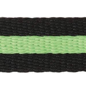 Longe BlackDuo in schwarz/apfelgrün