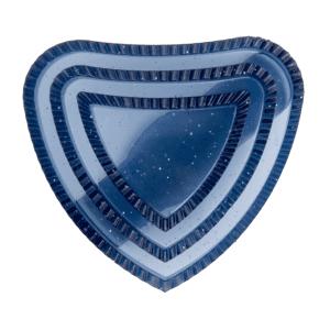 Herzchenstriegel Lucky Heart in nchtblau