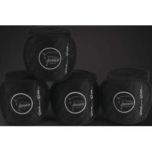 Fleecebandagen Platinum Bandages -limited edition- in black