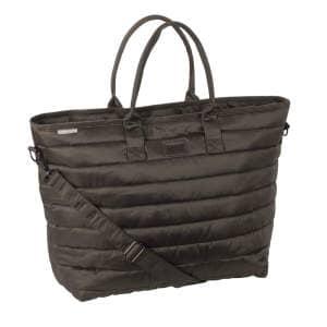 Tasche Glossy Shopper (Platinum 20) in havanabrown