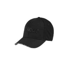 Cap Damen Mesheinsatz in schwarz