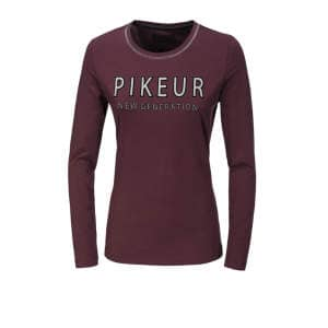 Damenshirt Isy in bordeaux