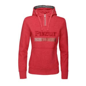 KAYA II Damen Sweat Hoody in bright red melange