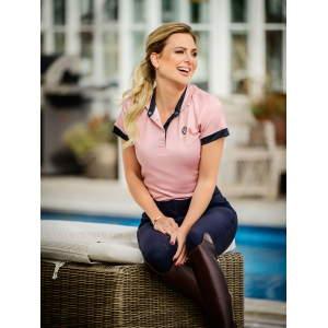 Poloshirt Damen Daniella in Pink
