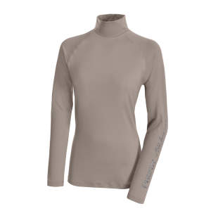 Funktionsshirt Abby in taupe