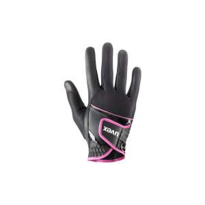 Reithandschuh Sumair in schwarz/pink