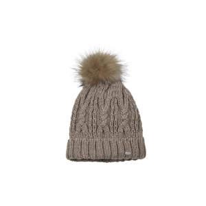 Mütze Fellbommel in taupe