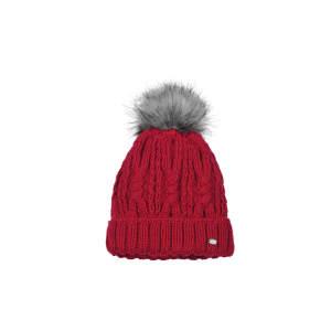 Mütze Fellbommel in rot