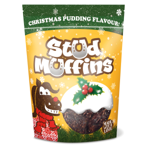 Stud Muffins Christmas Pudding Flavour, 15 Stk.