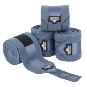 Bandagen Fleece Loire Polo in Ice Blue