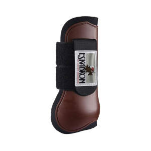 Gamaschen Protection Boots vorn in brown