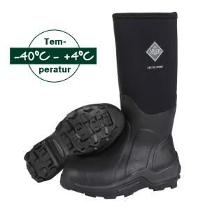 Stiefel Arctic Sport High in schwarz