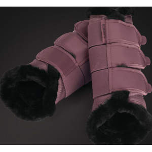 Gamaschen Platinum Soft Tendon Boots Faux Fur -limited edition- in blossom