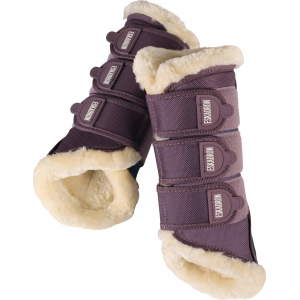 Gamaschen Fauxfur (NG ltd. FS18) in smokingpurple