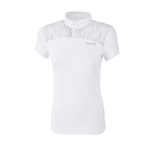 Turniershirt Damen Melenie in weiß