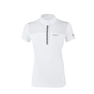 Turniershirt Damen Ebony in weiß