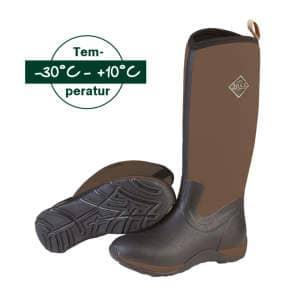 Stiefel Arctic Adventure Solid in schwarz-braun