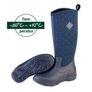 Stiefel Arctic Adventure Castlerock in navy