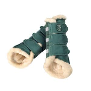 Gamaschen FauxFur (Classic Sports FS19) in seapine green