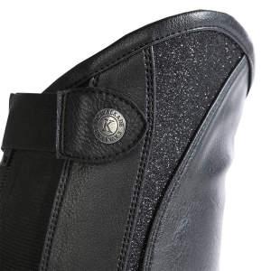 Wadenchaps Combi Fashion in schwarz