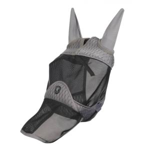 Fliegenmaske Gladiator Full in Grey