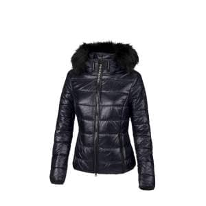 Steppjacke Damen Karry HW20 in graphite blau