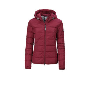 Steppjacke Damen Julina HW20 in pomegranate
