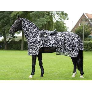 Ausreitdecke Moskito Zebra II in zebra