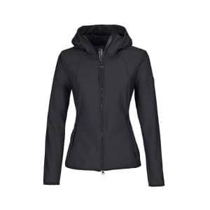Softshell-Jacke Damen Kendra HW20 in graphite blau