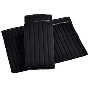 Bandagen-Unterlagen Klett Glitter in schwarz