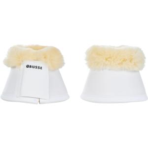 Hufglocken Comfort-Fell in weiß