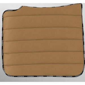 Schabracke FlexiPad Dressur in braun/caramel