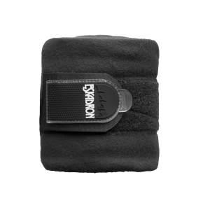 Bandagen Fleece in schwarz