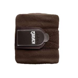 Bandagen Fleece in dunkelbraun