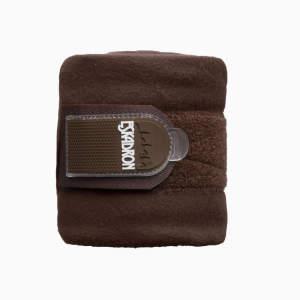 Bandagen Fleece in braun