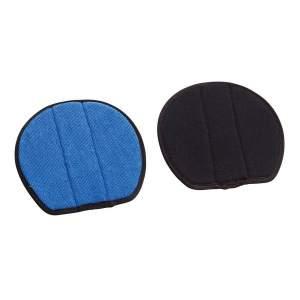 Ersatzpads für Hufüberzug Safeties Pro® in schwarz/blau